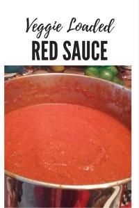 Veggie Loaded Red Sauce @godschicki