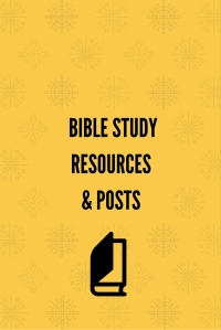 Bible Study Resources & Posts