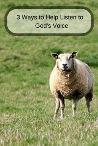 3 Ways to Help Listen to God's Voice @godschicki