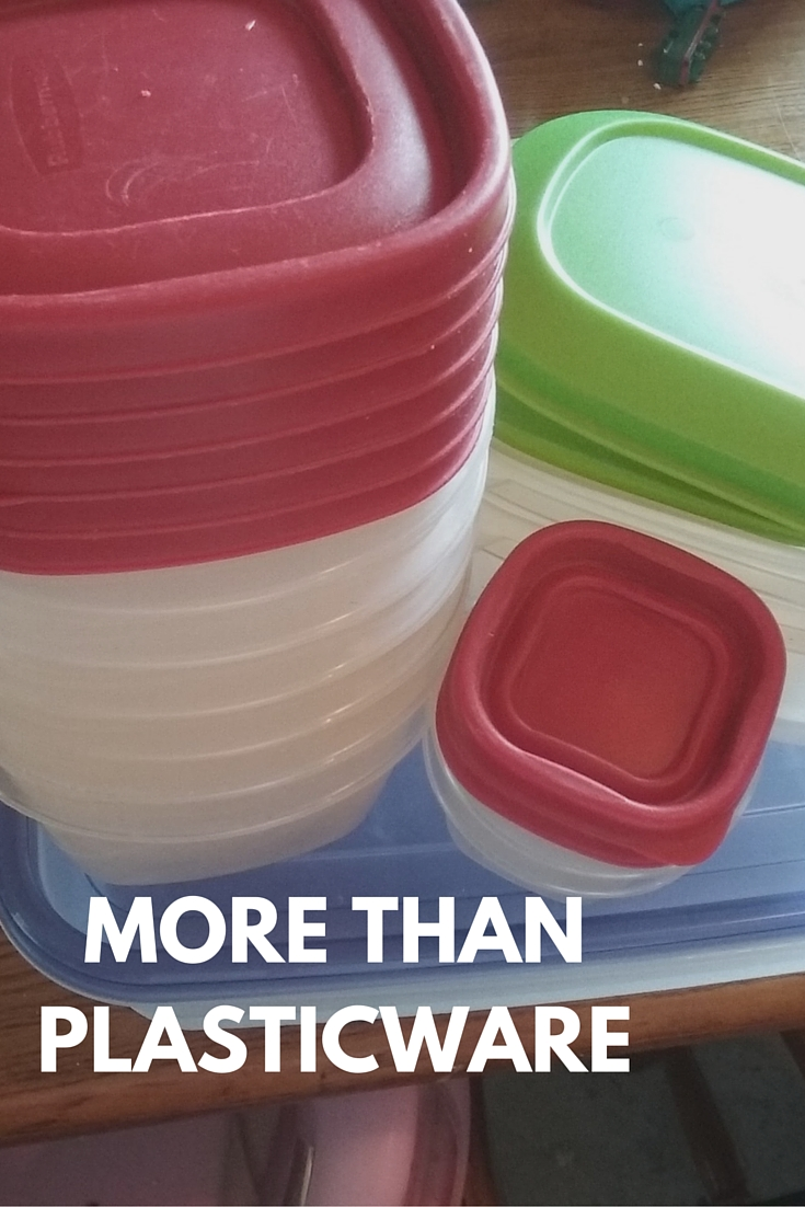 More than plastic ware