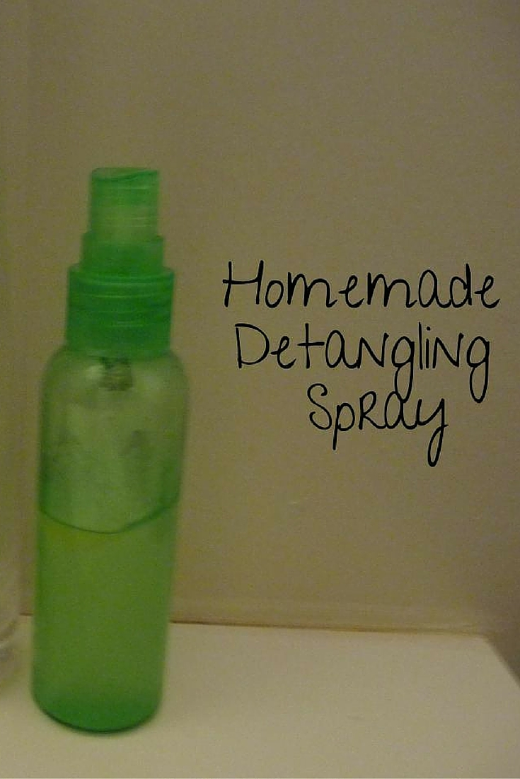 Homemade Detangling Spray @godschicki