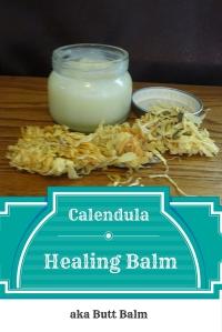 Calendula Infused Healing Balm aka Butt Balm @godschicki