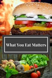 What You Eat Matters @godschicki
