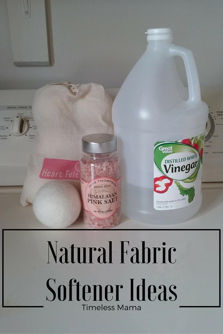 Fabric softener natural