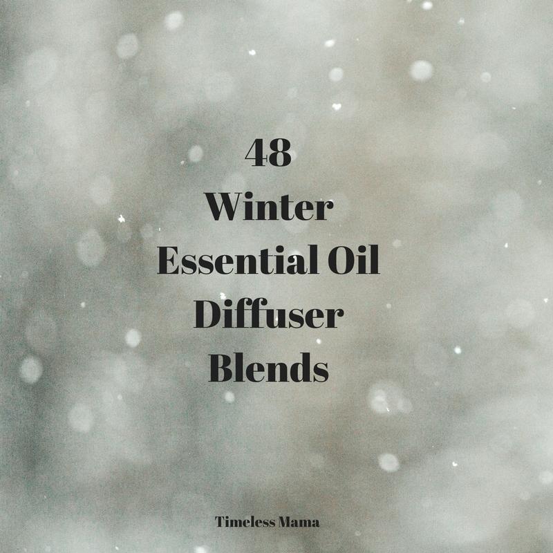 48 Winter Diffuser Blends @godschicki