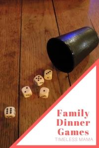 Family Dinner Games @godschicki