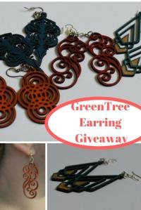 GreenTree Earring Giveaway @godschicki