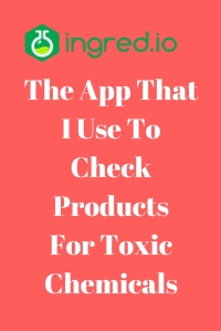The App The I Use To Check Products For Toxic Chemicals @godschicki