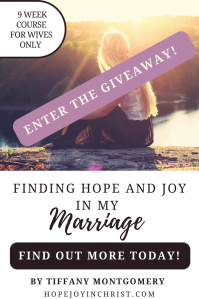 Finding Hope and Joy in Your Marriage @godschicki