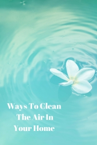 Ways To Clean The Air InYour Home