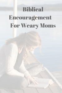 How to find encouragement in the Word when you are weary #bible #mom #encouragement #weary @godschicki @juliealoos