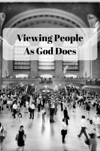How do we view those around us? Especially the lost? #evangelism #Christian #Bible #jesus #jesustotheworld #saltandlight @godschicki