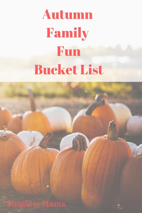 Our goals for intentional memory making this autumn #autumn #familytime #fall #pumpkin #bucketlist @godschicki