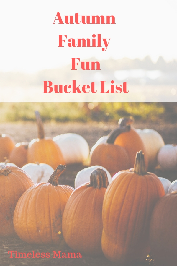 Our goals for intentional memory making this autumn #autumn #familytime #fall #pumpkin #bucketlist @godschicki