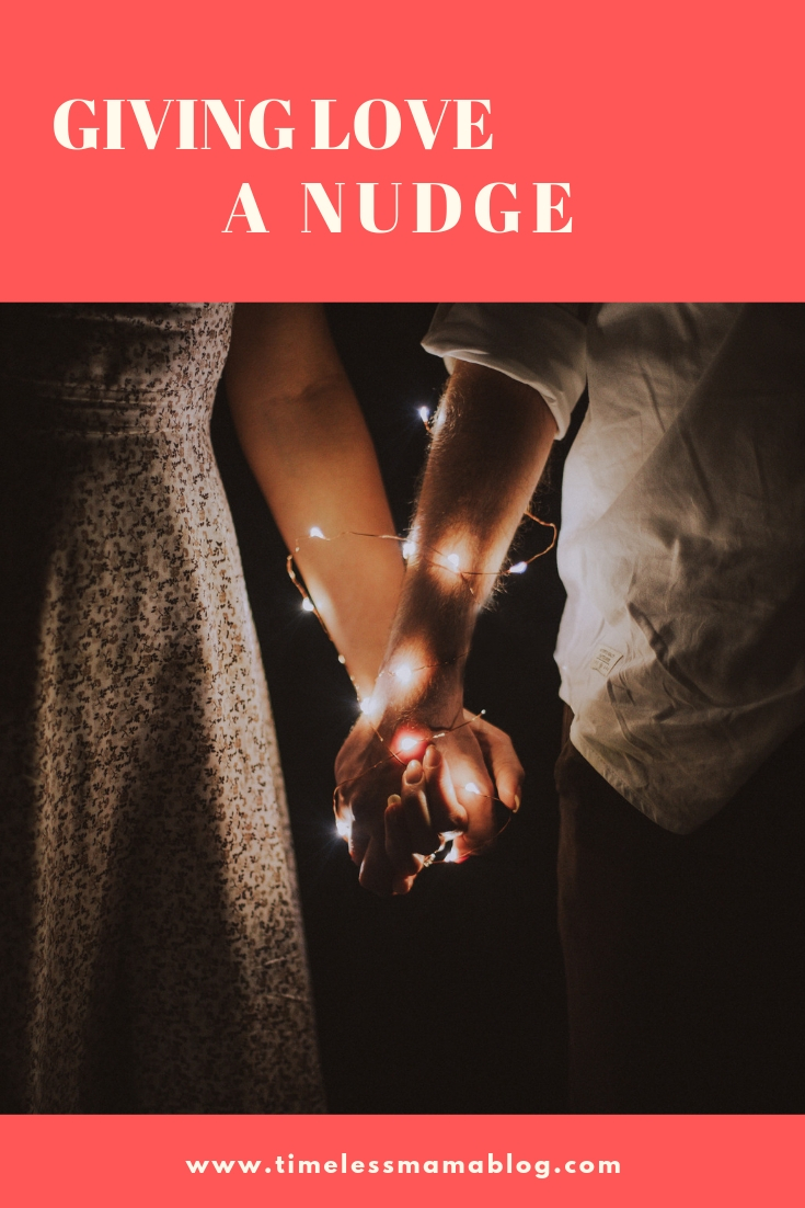 Giving Love a Nudge #romance #love #marriage #5lovelanguages @godschicki